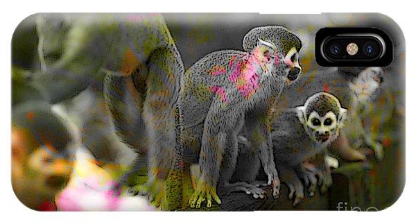 Monkeys IPhone Case