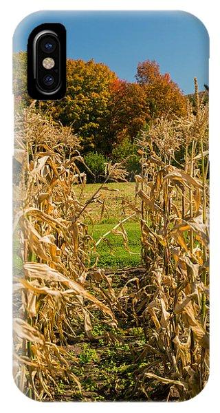 Monks Fall Corn Field IPhone Case