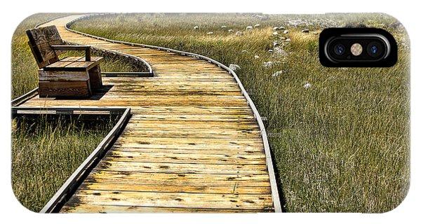 Mono Lake Boardwalk  IPhone Case