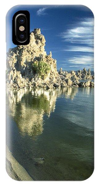 Mono Lake Shoreline Rock IPhone Case
