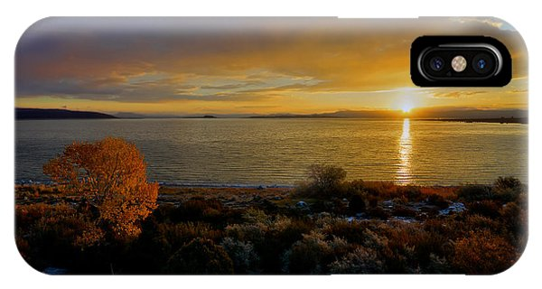 Mono Lake Sunrise IPhone Case