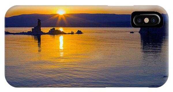 Mono Lake Sunrise IPhone Case