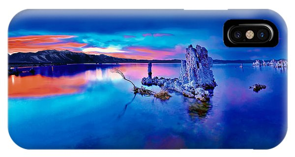 Mono Lake Sunset IPhone Case