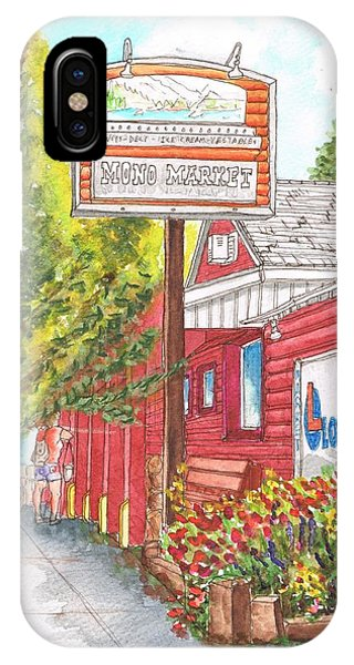 Mono Market Near Mono Lake In Lee Vining-california IPhone Case