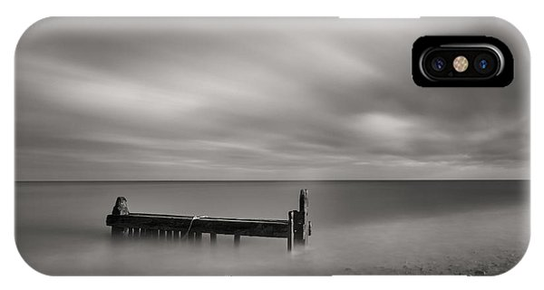 Mono Reculver Bay IPhone Case