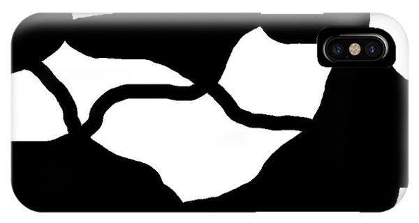 Monochrome New1builder3 Glyph 12 IPhone Case