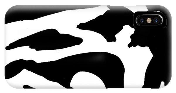 Monochrome New1builder3 Glyph 2 IPhone Case
