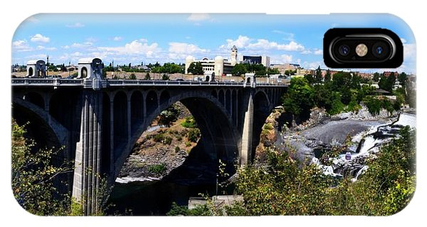 Monroe Street Bridge - Spokane IPhone Case