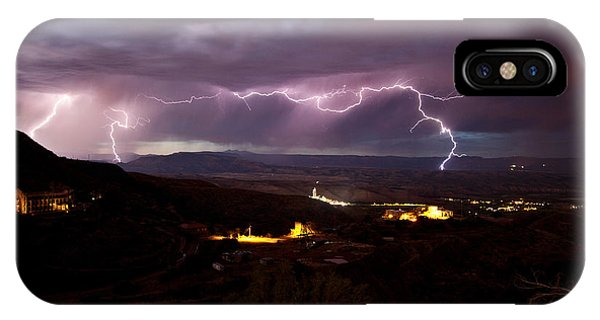 Monsoon Lightning Jerome IPhone Case