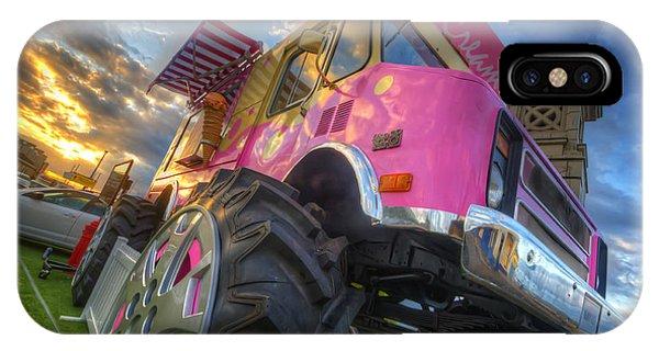 Monster Ice Cream Truck IPhone Case