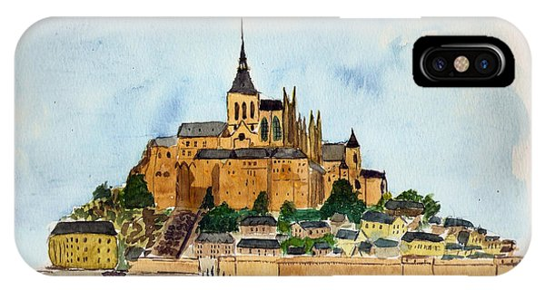 Mont Saint-michel IPhone Case