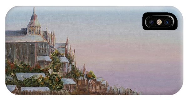 Mont St. Michel IPhone Case