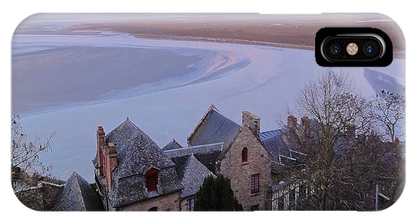 Mont St Michel Tower View IPhone Case