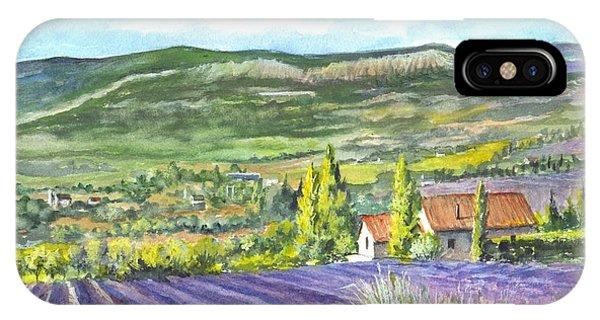 Lavender iPhone Case - Montagne De Lure In Provence France by Carol Wisniewski