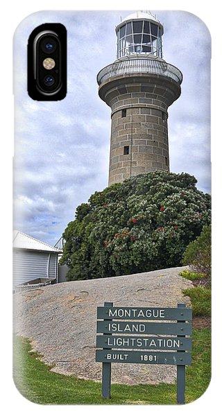 Montague Island Lighthouse - Australia IPhone Case