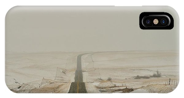 Montana Highway 3 IPhone Case
