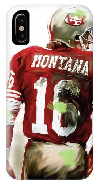 Montana II  Joe Montana IPhone Case