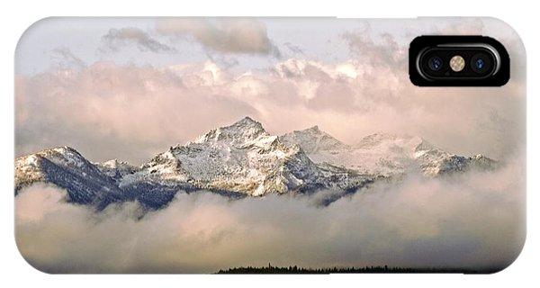 Montana Mountain IPhone Case
