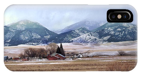 Montana Ranch - 1 IPhone Case