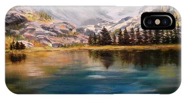 Montana Reflections IPhone Case