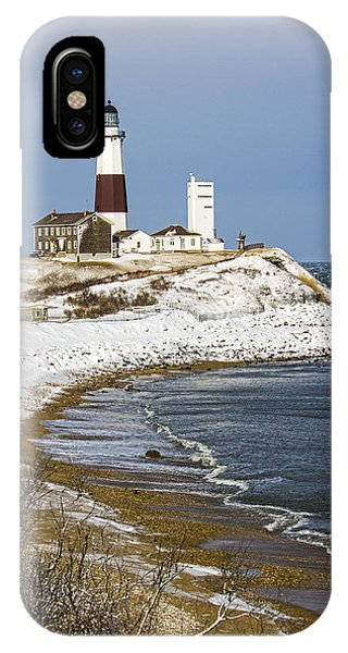 Montauk Snow IPhone Case