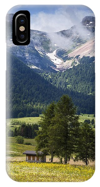 Monte Bondone IPhone Case