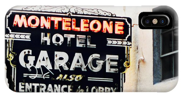 Monteleone Hotel IPhone Case