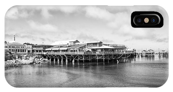 IPhone Case featuring the photograph Monterey Old Fisherman's Wharf by Priya Ghose