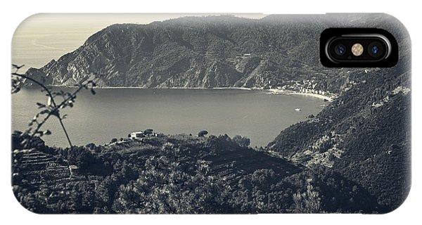Monterosso Al Mare From Above IPhone Case