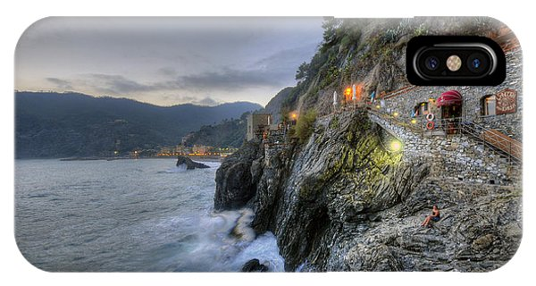 Monterosso At Sunset IPhone Case
