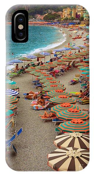 Monterosso Beach IPhone Case