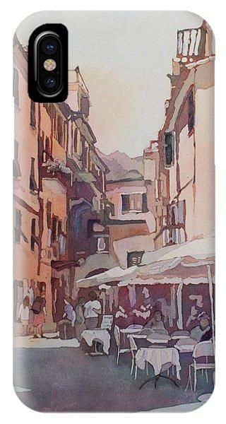 Monterosso Cafe IPhone Case