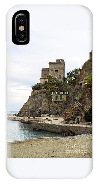 Monterosso Harbor Pier IPhone Case