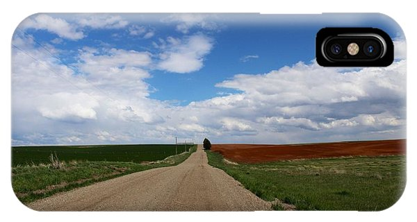 Montezuma Creek Road IPhone Case