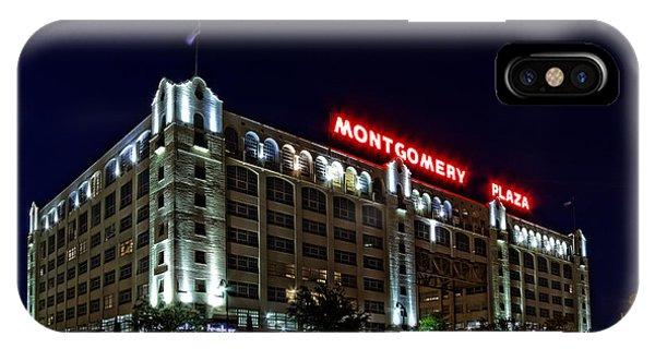 Montgomery Plaza Fort Worth IPhone Case