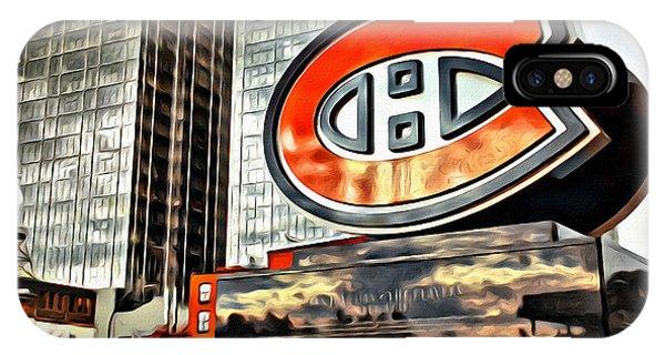 Montreal C IPhone Case