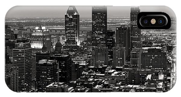 Quebec City iPhone Case - Montreal City by Pierre Leclerc Photography