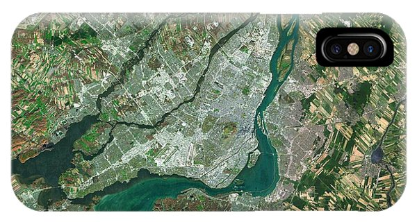 Quebec City iPhone Case - Montreal by Planetobserver