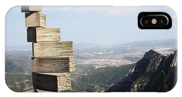 Montserrat Spain Phone Case by Sophie Vigneault