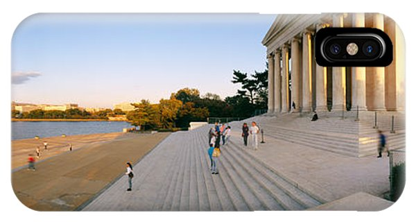 Jefferson Memorial iPhone Case - Monument At The Riverside, Jefferson by Panoramic Images
