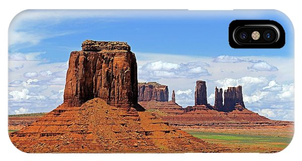 Physical iPhone Case - Monument Valley Buttes by Bildagentur-online/mcphoto-schulz