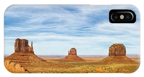 Monument Valley Panorama - Arizona IPhone Case