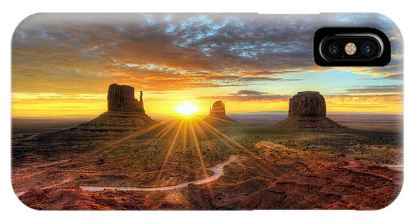Monument Valley Sunrise IPhone Case