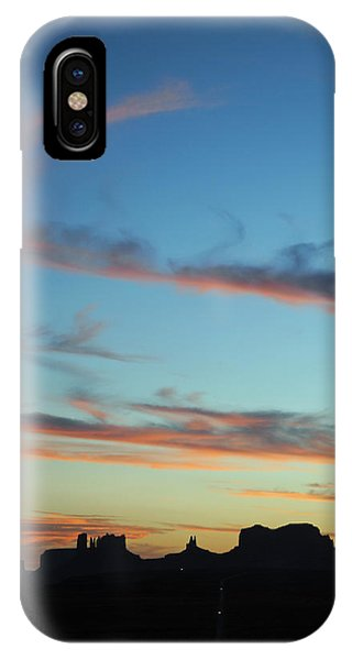 Monument Valley Sunset 3 IPhone Case