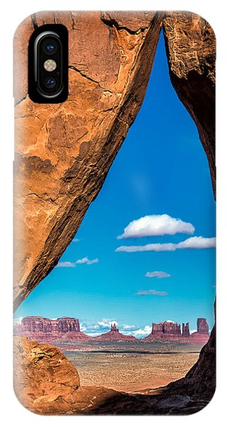 Monument Valley Through A Tear IPhone Case