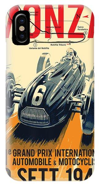 Monza Grand Prix IPhone Case