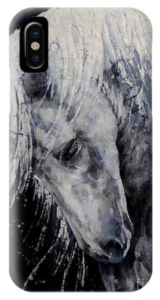 Barnyard Animals iPhone Case - Moody Blues by Hailey E Herrera