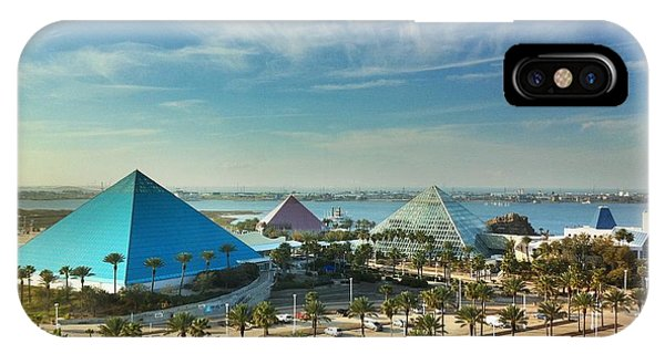Moody Gardens In Galveston IPhone Case