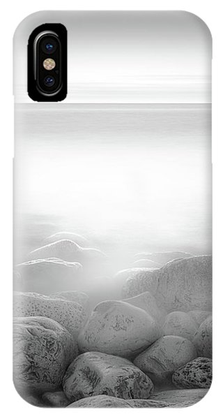 Simple Landscape iPhone Case - Moog Island by Paulo Abrantes