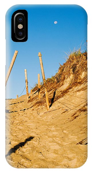 Moon And Dunes IPhone Case